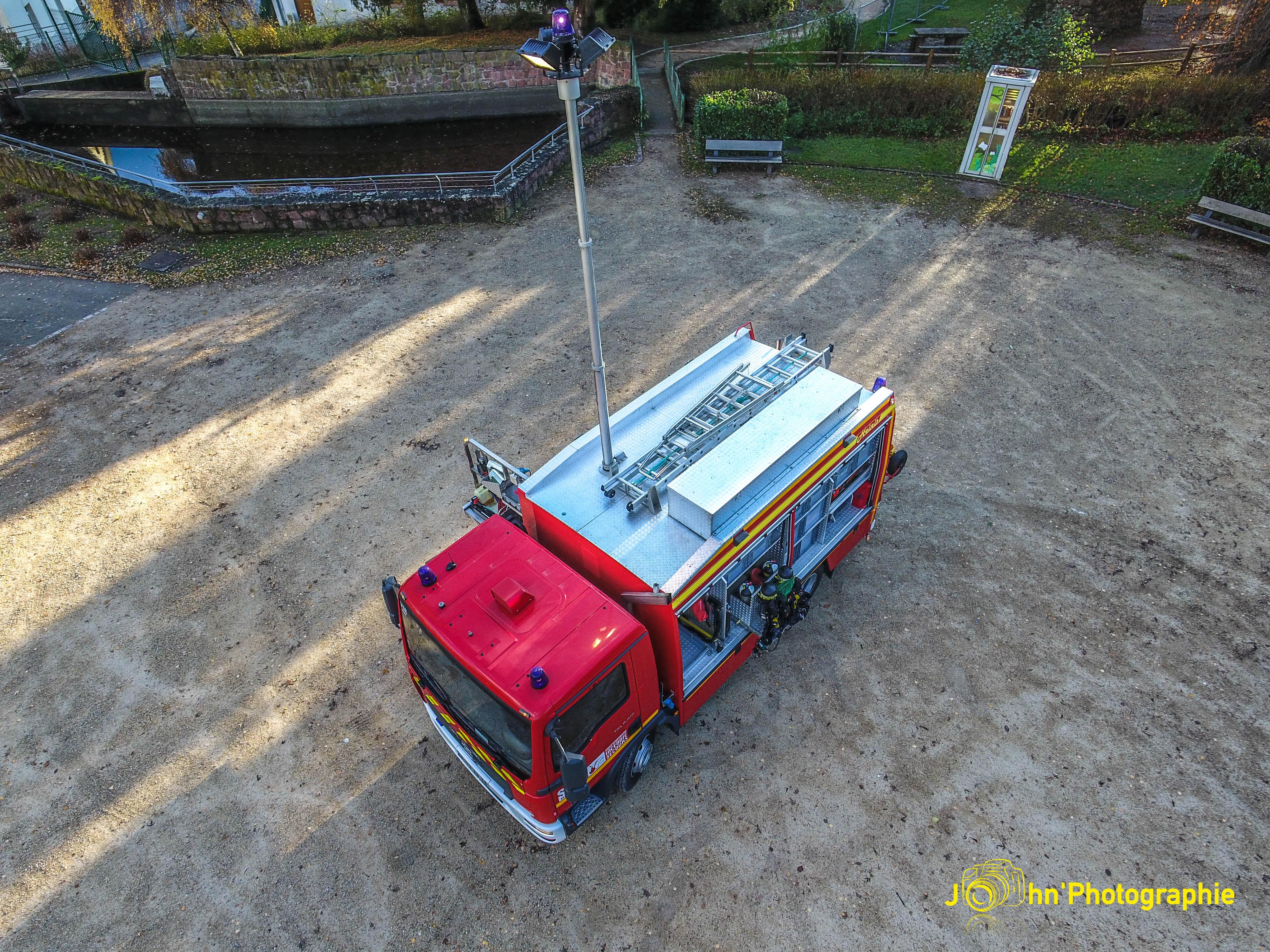 Photographie du VSR - vue du dessus